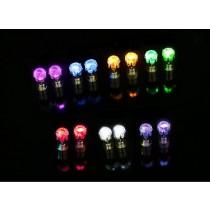 leuchtende LED Ohrstecker Zirkonia Ohrringe  Modeschmuck