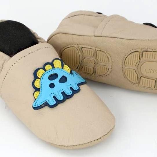 Liyas-Krabbelschuhe-Hausschuhe-Lederpuschen-Kindergartenschuhe-Turnschlaepchen